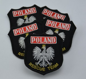 Emblemat haftowany RESCUE TEAM POLAND